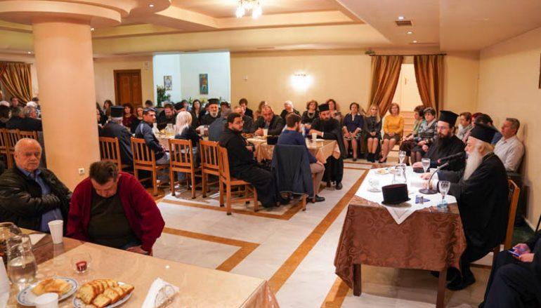 Ξεκίνησε στην Νάουσα η σειρά ομιλιών με τίτλο «Επισκοπικός Λόγος» (ΦΩΤΟ)