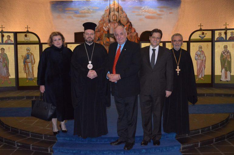 Ο Υφυπουργός Εξωτερικών της Ελλάδος στο Σαμπεζύ (ΦΩΤΟ)