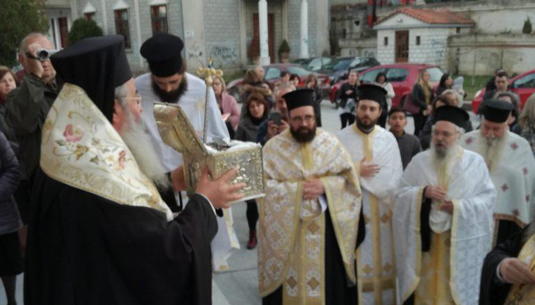 Η Τιμία Κάρα του Αγίου Νικάνορος στην Κοζάνη  (ΦΩΤΟ)