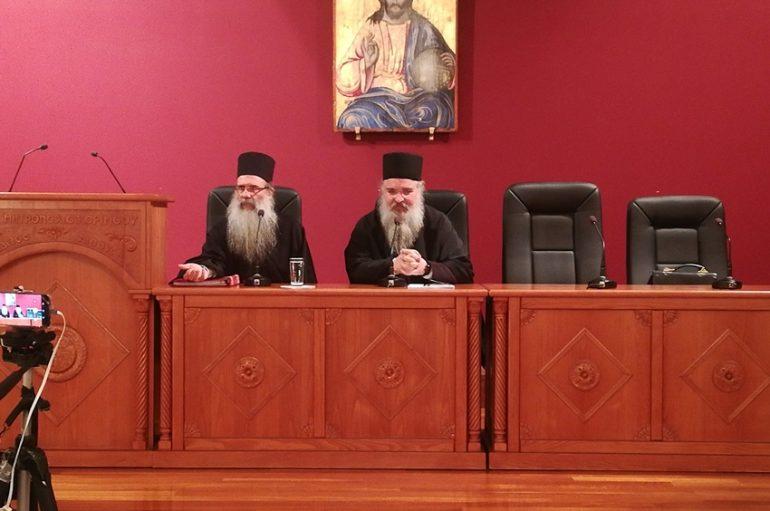 """Ομιλία του Αρχιμ. Αρσενίου """"Σιναΐτη"""" στην Ι. Μ. Κορίνθου (ΦΩΤΟ)"""