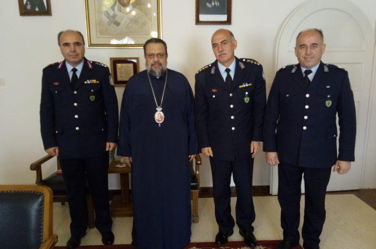 Στο Μητροπολίτη Μεσσηνίας ο Περιφ. Aστυνομ. Δ/ντης Πελοποννήσου