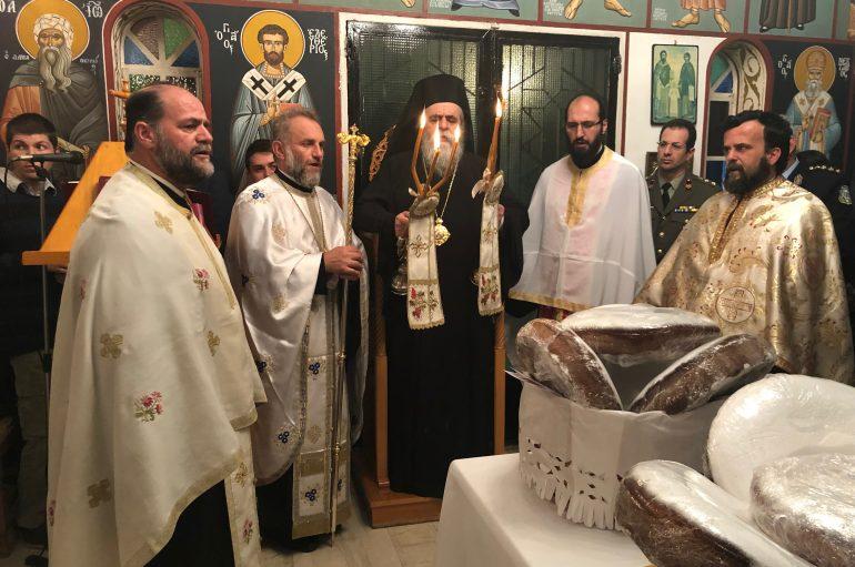 Τα Εισόδια της Θεοτόκου εόρτασε το Στρατόπεδο της ΣΕΤΤΗΛ Πύργου (ΦΩΤΟ)