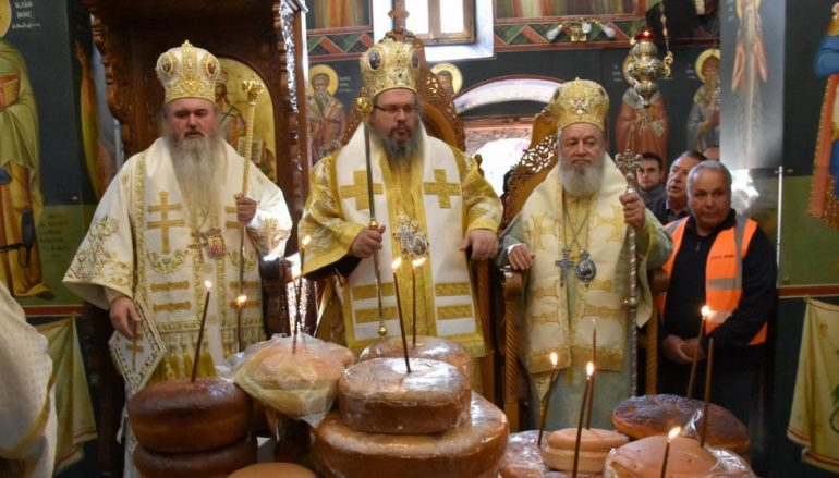 Με λαμπρότητα πανηγύρισε η Ι. Μονή Οσίου Δαυΐδ του Γέροντος Ευβοίας (ΦΩΤΟ)