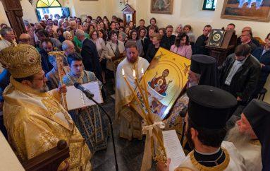Ενθρόνιση Ιεράς Εικόνος στην Ι. Μονή Βελανιδιάς Μεσσηνίας (ΦΩΤΟ)
