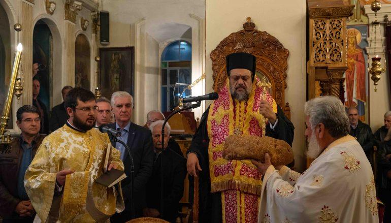 Πανηγυρικός Εσπερινός της Αγίας Αικατερίνης στην Ι. Μ. Μεσσηνίας (ΦΩΤΟ)
