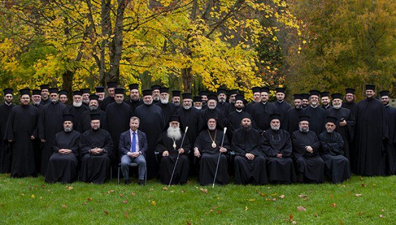 Γ΄ Ιερατική Σύναξη της Ιεράς Μητροπόλεως Βελγίου (ΦΩΤΟ)