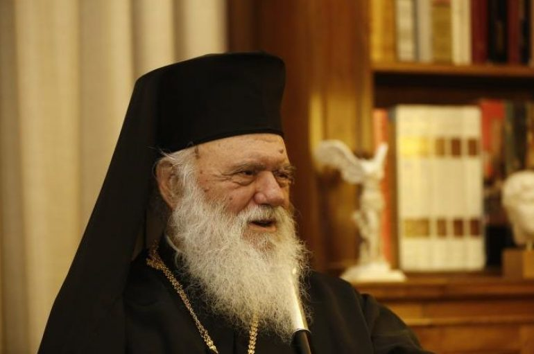 """Αρχιεπίσκοπος: """"Ο Κατσίφας ήταν Έλληνας και τον θαυμάζουμε γι' αυτό που έγινε"""""""