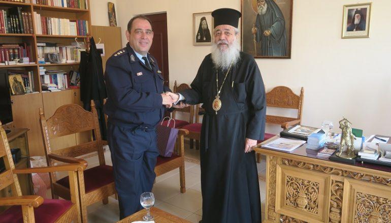 Στον Μητροπολίτη Νικόλαο ο νέος Αστυνομικός Διευθυντής Φθιώτιδος