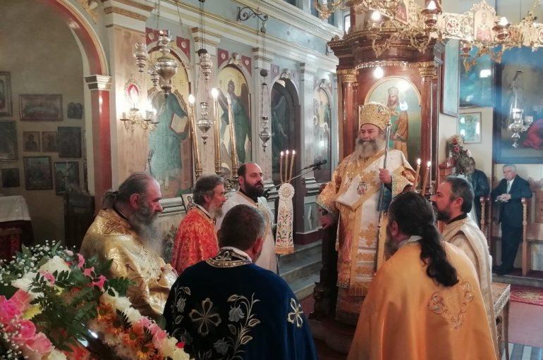 Η εορτή των Εισοδίων της Θεοτόκου στην Ι. Μητρόπολη Μάνης (ΦΩΤΟ)