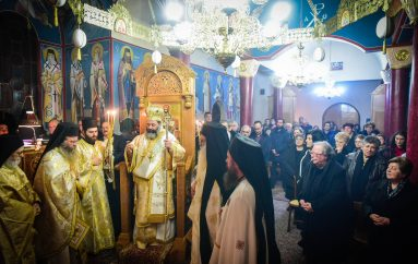 Ιερά Αγρυπνία επί τη εορτή του Οσίου Παταπίου στην Ι. Μ. Λαγκαδά