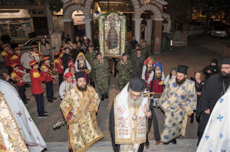Τα Γιαννιτσά υποδέχθηκαν την Παναγία Ελεούσα