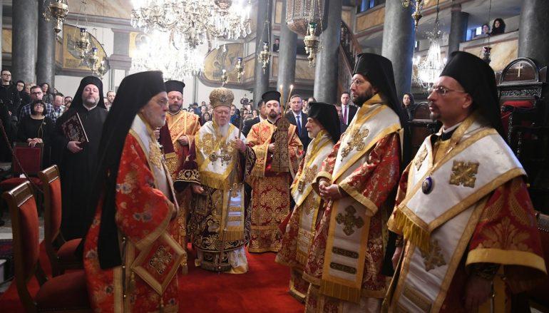 Η εορτή των Χριστουγέννων στο Οικουμενικό Πατριαρχείο