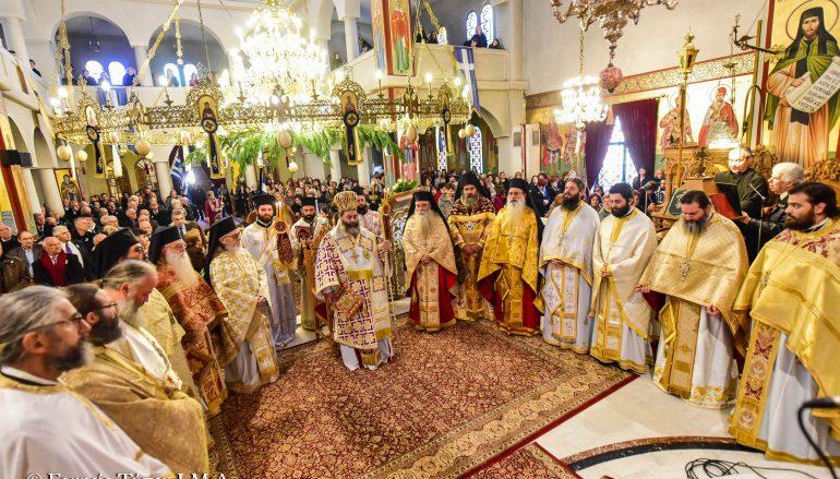 Ο εορτασμός του Αγίου Νικολάου και Ιερατική Σύναξη στην Ι. Μ. Λαγκαδά