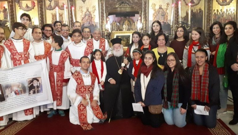 Η εορτή των Χριστουγέννων στο Πατριαρχείο Αλεξανδρείας