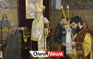 Αρχιερατική Θεία Λειτουργία των Χριστουγέννων στο Μεσολόγγι