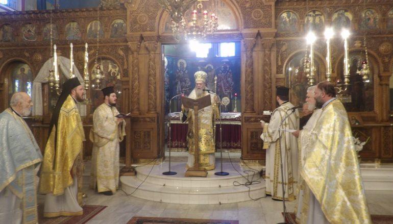 Κυριακή των Προπατόρων στην Ι. Μητρόπολη Κορίνθου