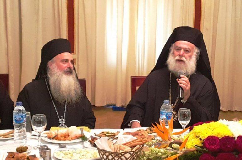 Το κρητικό τραγούδι του Πατριάρχη Αλεξανδρείας στον Μητροπολίτη Κανάγκας
