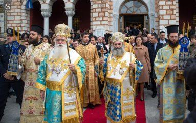 Με λαμπρότητα ο Βόλος εόρτασε τον Πολιούχο του Άγιο Νικόλαο