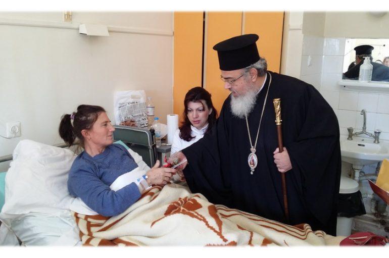 Ο Μητροπολίτης Πρεβέζης επισκέφθηκε Νοσοκομείο και Ιδρύματα της Πρέβεζας