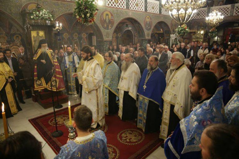 Αρχιερατικός Εσπερινός του Αγίου Νικολάου στην Γλυφάδα