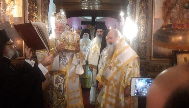 Η Χειροτονία του νέου Μητροπολίτη Κανάγκας Θεοδοσίου