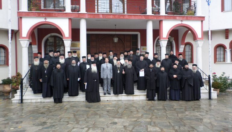 Ιερατική Σύναξη στην Ιερά Μητρόπολη Ιερισσού (ΦΩΤΟ)