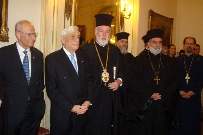 Συνάντηση του Μητροπολίτη Βελγίου και του Προέδρου της Ελληνικής Δημοκρατίας