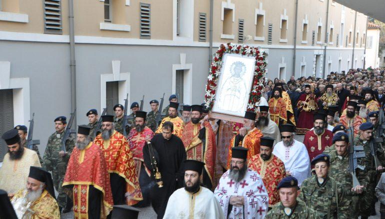 Με λαμπρότητα η Δράμα εόρτασε την Πολιούχο της Αγία Βαρβάρα