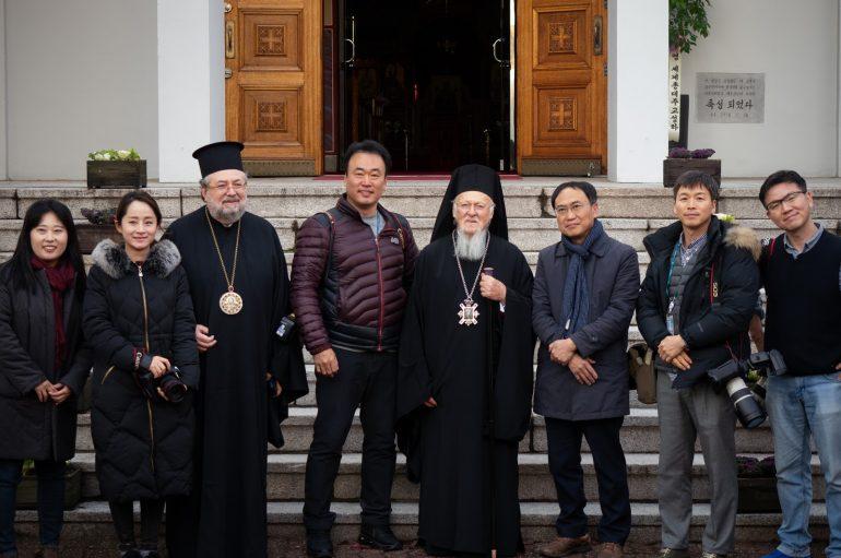 Συνεχίζεται η επίσκεψη του Οικ. Πατριάρχη στην Κορέα (ΦΩΤΟ)