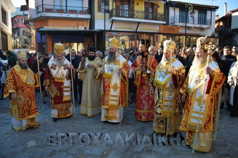 Η Αρναία εόρτασε τον Πολιούχο της Πρωτομάρτυρα Άγιο Στέφανο