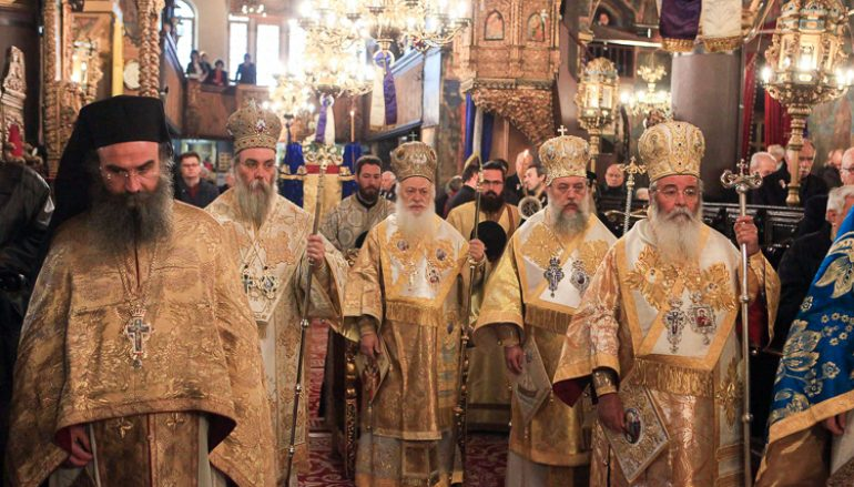Με μεγαλοπρέπεια πανηγύρισε ο Ιερός Ναός του Αγίου Νικολάου Κοζάνης