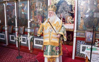 Με λαμπρότητα πανηγύρισε ο Ι. Ναός Αγίου Σάββα Κυριωτίσσης Βεροίας