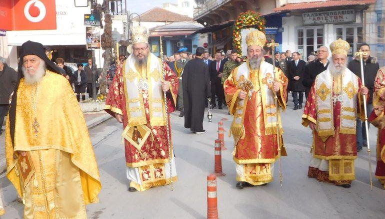 Ο Τύρναβος εόρτασε τον Πολιούχο του Άγιο Γεδεών