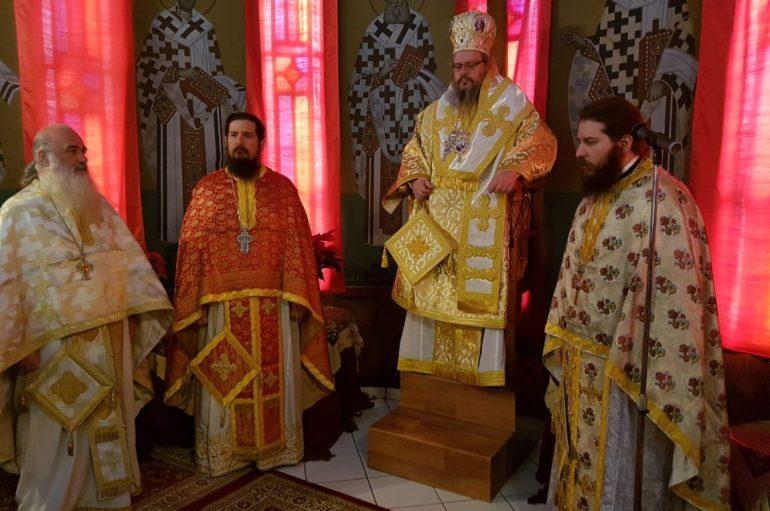 Ο Μητροπολίτης Λαρίσης στον Ι. Ναό Αγίου Αθανασίου Αρμενίου