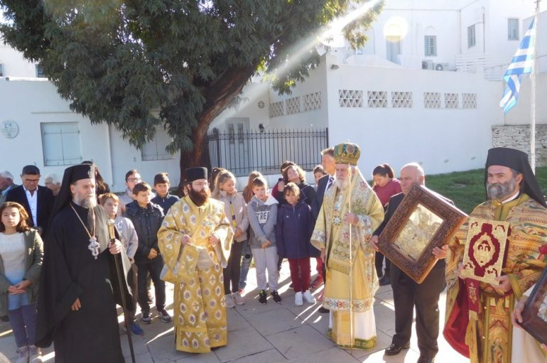 Με λαμπρότητα η Σίφνος εόρτασε τον Άγιο Σπυρίδωνα