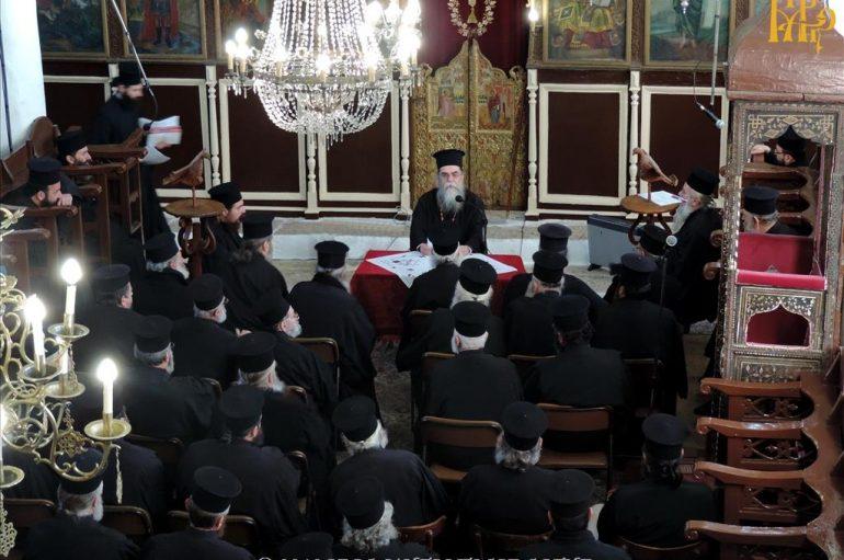 Ιερατική Σύναξη μηνός Δεκεμβρίου στην Ι. Μητρόπολη Άρτης