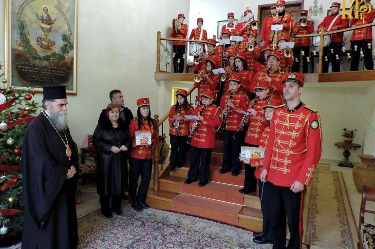 Τα κάλαντα της Πρωτοχρονιάς στο Επισκοπείο Άρτης