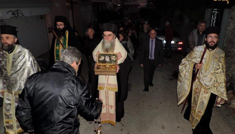 Η Άρτα υπεδέχθη Ιερά Λείψανα του Οσίου Γεωργίου του Καρσλίδου
