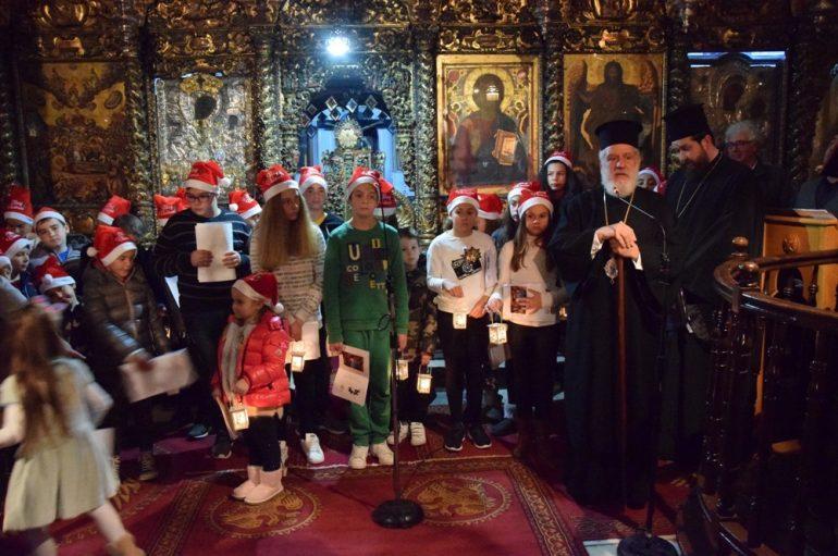Τα Κατηχητικά της Μυκόνου δόξασαν την Γέννηση του Χριστού