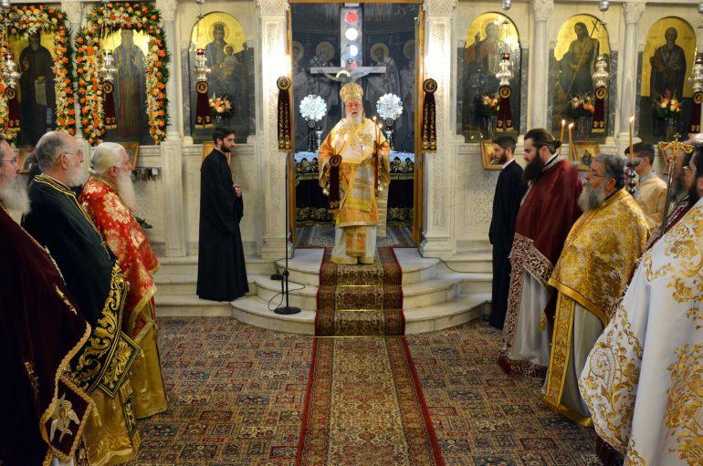 Λαμπρός ο εορτασμός της Αγίας Βαρβάρας στην Τρίπολη (ΦΩΤΟ)