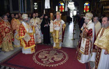 Η εν Θεσσαλιώτιδι Εκκλησία τίμησε τον προστάτη της Άγιο Σεραφείμ