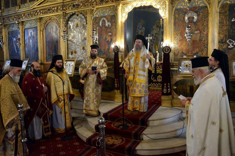 Θεία Λειτουργία από τον Μητροπολίτη Ιερισσού στην Τρίπολη
