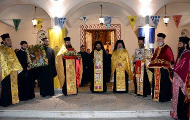 Μεθέορτος Εσπερινός και Λιτανεία της Αγίας Βαρβάρας στην Τρίπολη (ΦΩΤΟ)