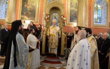 Ο εορτασμός του Αγίου Νικολάου στην Ι. Μητρόπολη Πατρών