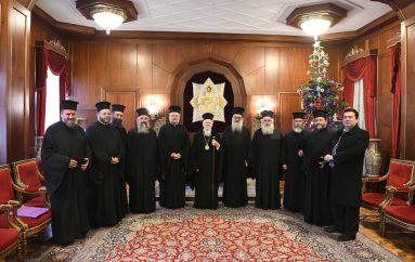Αντιπροσωπεία της Εκκλησίας της Κρήτης στο Φανάρι