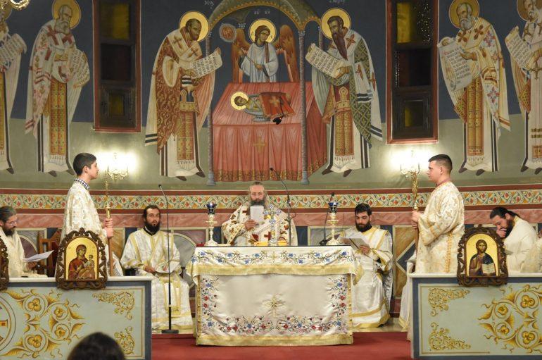 Η Θεία Λειτουργία του Αγίου Ιακώβου στην Ι. Μ. Κίτρους