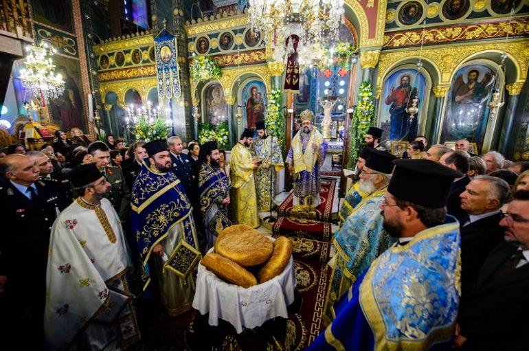 Η εορτή του Αγίου Νικολάου στην Ι. Μητρόπολη Μεσσηνίας