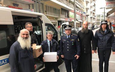 Είδη πρώτης ανάγκης στο Παντοπωλείο της I. Μ. Κίτρους παρέδωσε η Αστυνομική Δ/νση Πιερίας