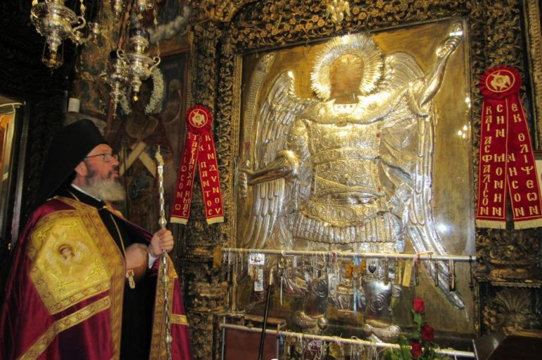 Ενθρονίστηκε ο νέος Ηγούμενος της Ι. Μονής Πανορμίτου Σύμης