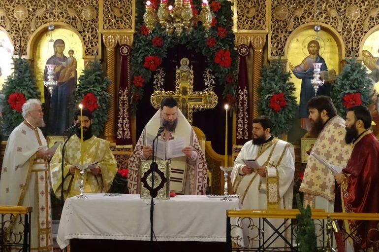 Η Θεία Λειτουργία του Αγ. Ιακώβου του Αδελφοθέου στην Ι. Μ. Νέας Ιωνίας